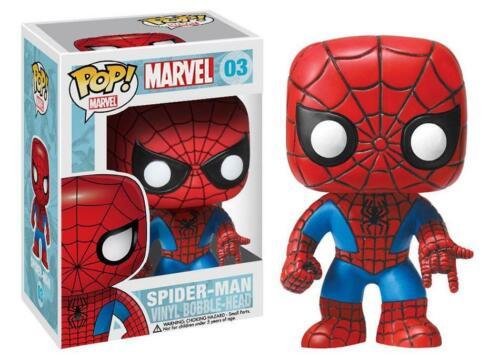 Vinyl Figure NEW /& IN STOCK NOW Marvel SPIDER-MAN #03 Pop Funko Pop
