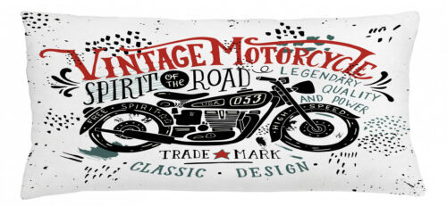 Geist der Straße Kein Verblassen Motorrad Kissenbezug