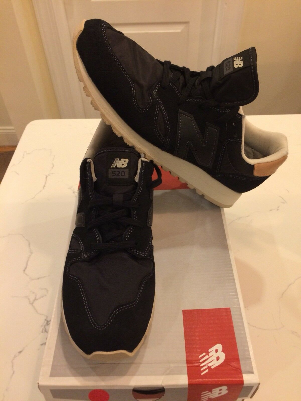 NEU Balance Damenschuhe Running Classics Schuhes Sneakers BLACK WL520BK Damenschuhe 10.5
