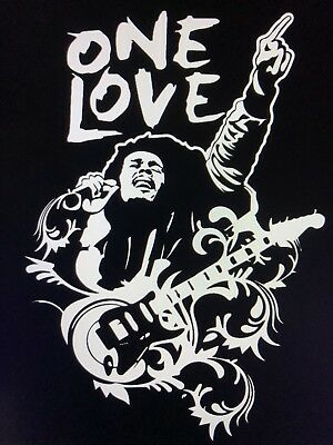 Bob Marley One Love Decal Sticker Buffalo Soldier One Love