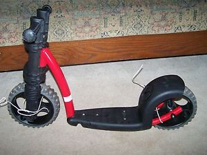 f0d1dfe4102 Ybike Kicker My First Scooter New Red Gray Sturdy Stable Child Baby ...