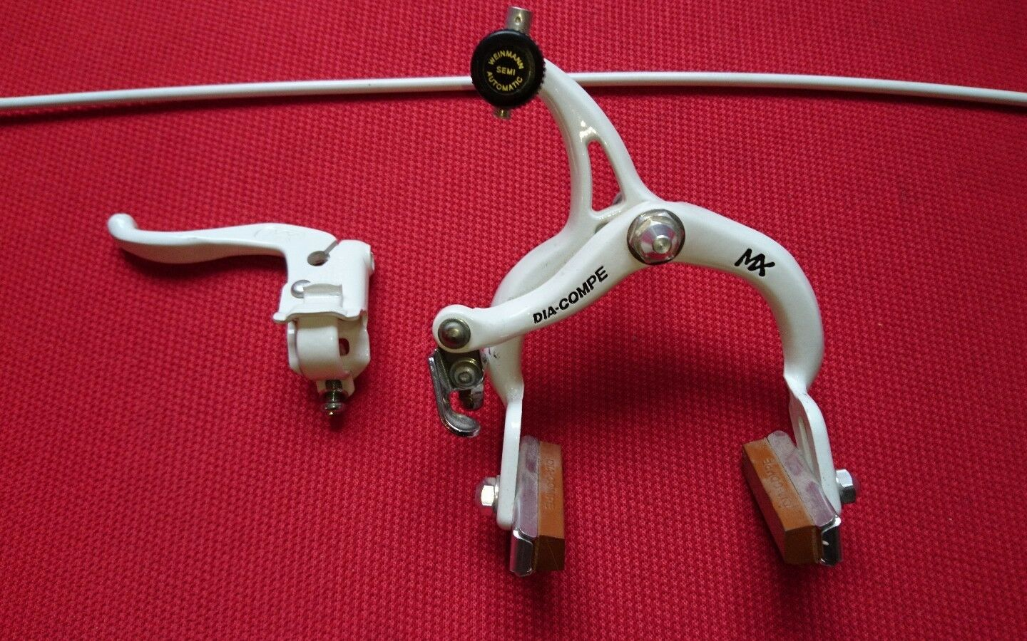 Old  school vintage dia-compe bmx brakes and lever real vintage  mx 901  brand outlet