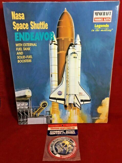 NASA Space Shuttle Endeavor Minicraft Model Kit 1:144 New 11630 Skill Level 2