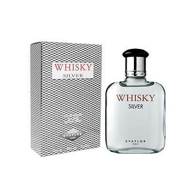 Evaflor Whiskey Silver EDT for Men 100ml   Genuine Perfume for Men