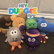 Hey Duggee 1852 Roly Talking Squirrel Soft Toy Grey Summer Play Fun Character UK