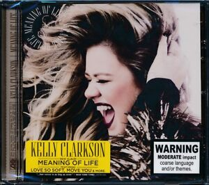 KELLY-CLARKSON-Meaning-Of-Life-CD-NEW-Love-So-Soft-Move-You-Slow-Dance