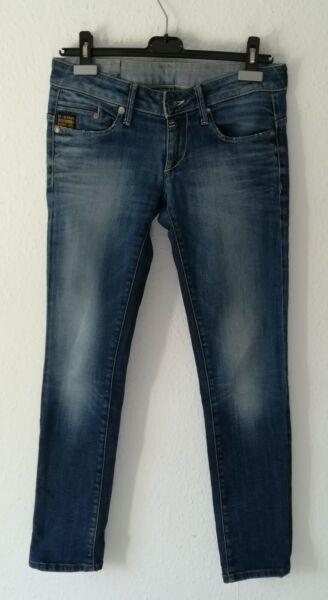 (727)schöne G-star Damen Jeans In Gr. W28 L32 Bon Pour AntipyréTique Et Sucette De La Gorge