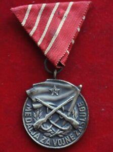 K70) Orden Jugoslawien Medaille für militärische Verdienste