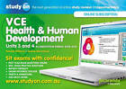 Studyon VCE Health and Human Development Accreditation Period 2014-2017 Units 3 & 4 & Booklet by Jenene Marchbank, Pamela Williams (Paperback, 2013)
