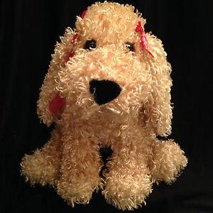 Phenomenal Valentine Curly Haired Dog Plush Stuffed Soft Floppy Ears Puppy Short Hairstyles Gunalazisus