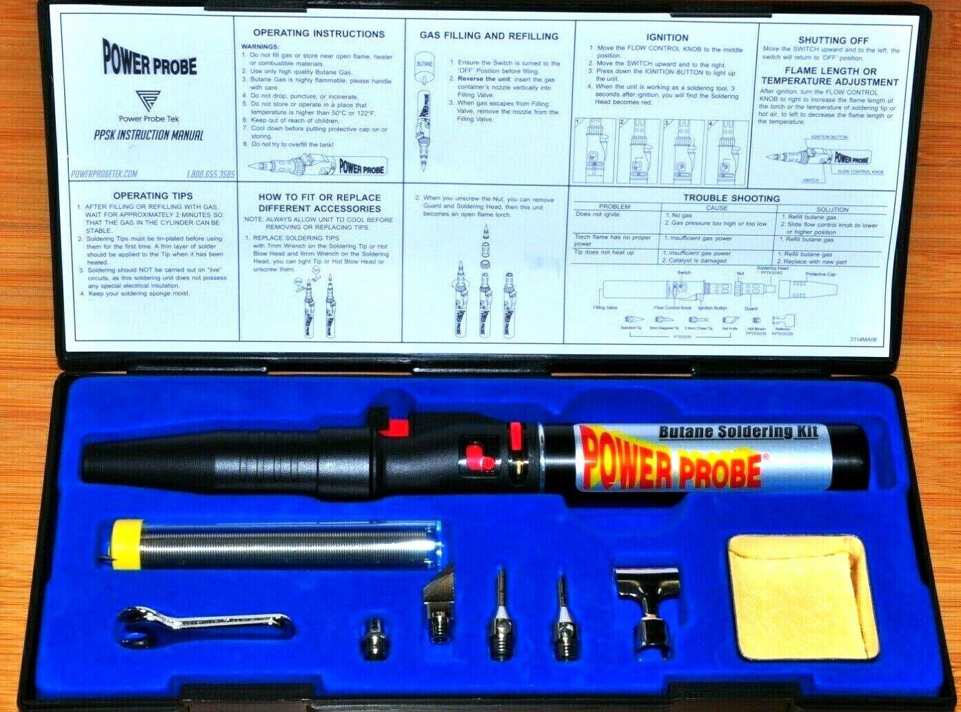 Butane Soldering Iron., Pen , Gun Kit , Multipurpose soldering, Power probe PPSK