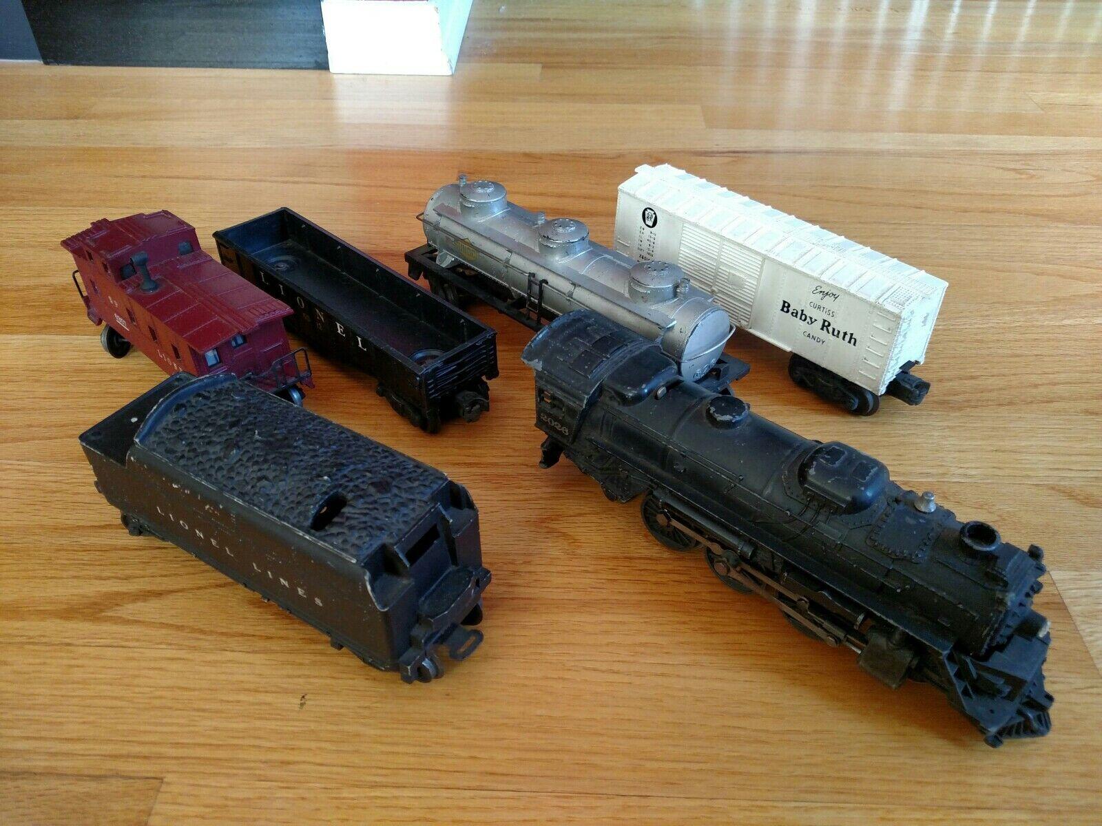 Post War O27 Lionel 2026 Train Set Sunoco Baby Ruth - Runs