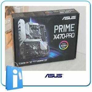 Placa-base-ATX-Ryzen-X470-ASUS-PRIME-X470-PRO-Socket-AM4-con-Accesorios