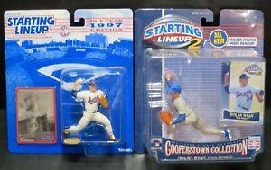 Starting Lineup 1997 & 2001 Cooperstown - Nolan Ryan -  Suns & Texas Rangers-MOC