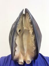 NEW Overhead Realistic Clam Shell Mask Movie Fx Quality Fancy Dress Party Prop