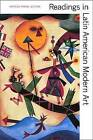 Readings in Latin American Modern Art by Yale University Press (Paperback, 2004)