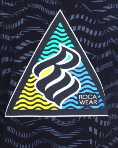 Rocawear Black Mens Big Tall Logo Short Sleeve Shirt 5X 5XL