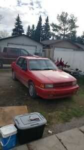 1992 dodge spirit es turbo $1500