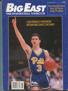 Big-East-1988-1989-Basketball-Yearbook-Sean-Miller-Stacy-Augmon-MBX78