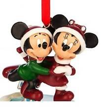 "DISNEY 2014 MICKEY & MINNIE ""MY 1ST CHRISTMAS"" ORNAMENT NEW IN BOX"