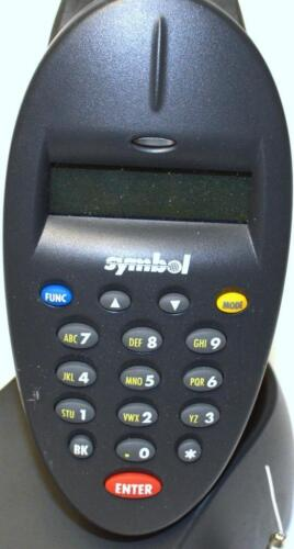 SOLD AS IS SYMBOL PHASER RF BARCODE READER WITH CHARGER PL370-1000US