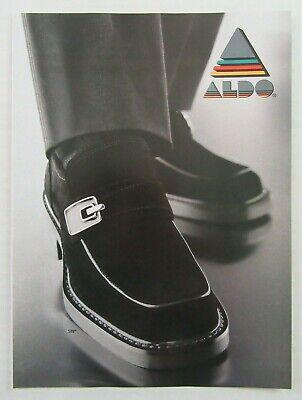 1998 aldo shoes mens black fancy casual dress shoes