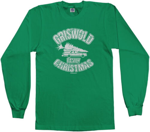 Threadrock Kids Griswold Family Christmas Youth Long Sleeve T-shirt Vacation