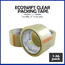 1 36 Roll Ecoswift Packing Packaging Carton Box Tape 16mil 2 X 55 Yard 165 Ft