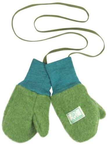 PICKAPOOH Baby//Kleinkind Fausthandschuhe Fäustel Handschuhe Bio-Wollfleece