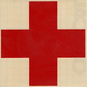 Red-Cross-Medical-EMS-Car-Auto-Window-High-Quality-Vinyl-Decal-Sticker-10070