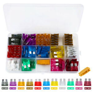 150x-CAR-FUSE-BLADE-FUSES-MIX-ASSORTED-SET-2-3-5-7-5-10-15-20-25-30-35-40-AMP