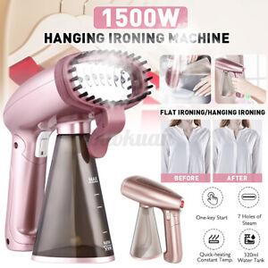 1500W-Electric-Garment-Clothes-Hanging-Steam-Iron-Steamer-Spray-Brush-Handheld
