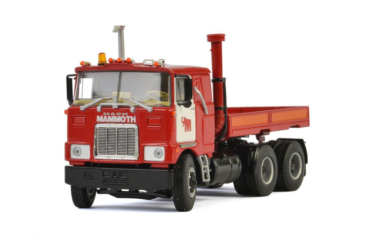WSI Mammoet Mack 410230 F700 6X4 promotor con caja de lastre mamut escala 1 50