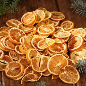 Dried Orange Slices 20 100pcs 4 6cm Scented Christmas Decoration