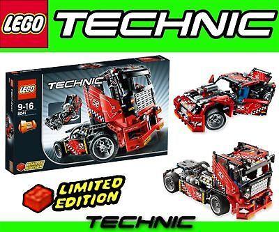Camion  e auto da corsa LEGO TECHNIK 8041 2 in 1  bellissima