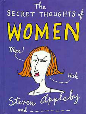 1 of 1 - The Secret Thoughts of Women (Secret Thoughts Series), Appleby, Steven, Very Goo