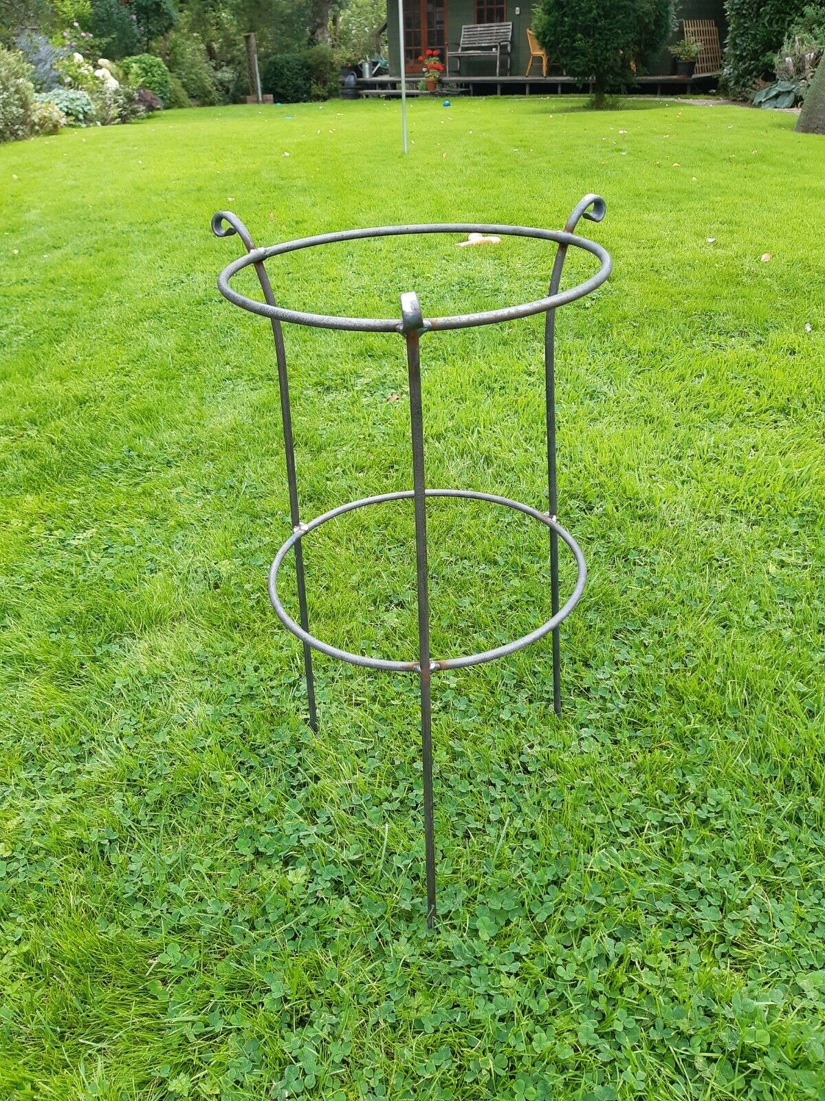 Handmade Heavy Duty Antique Style Herbaceous/Peony Plant Support: 5/16