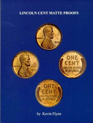 Lincoln Cent Matte Proofs Book Detailed Die Diagnostics Descriptions /& Photos