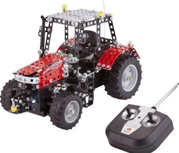 TRO10087 -  Tracteur radio comuomodé MASSEY FERGUSON 7600 en kit de 181 monete à a  con il 60% di sconto