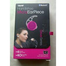 Tzumi Handsfree Bluetooth ProBuds Micro Ear Piece Driver Series Pink