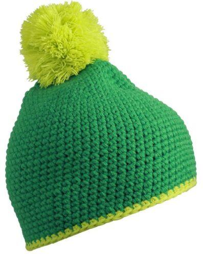 Myrtle Beach Pompon Häkelmütze Hat Winter Bommel Mütze Cap