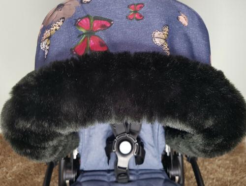 Pram Furs Hood Trim Bugaboo Stokke ICandy Silver Cross Joie Mothercare Babyzen
