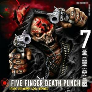 Five-Finger-Death-Punch-And-Justice-For-None-Deluxe-Edition-DIGIPAK-CD-NEW