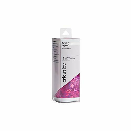 Adhesive Decal Roll 5.5 x 48 Permanent Cricut Joy Smart Vinyl White