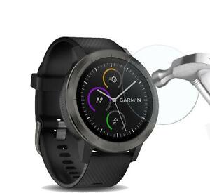 Per-Garmin-Vivoactive-3-Cover-proteggi-schermo-in-vetro-temperato-per-orologio