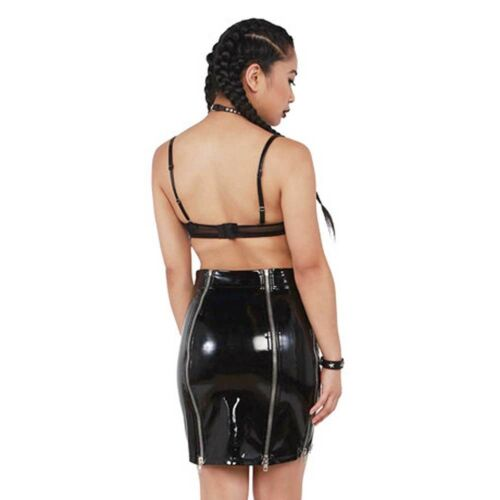 Reggiseno Pvc Schwarz Clubwear Gothic Hot ore bh Lack 24 nero PCqwS4wI