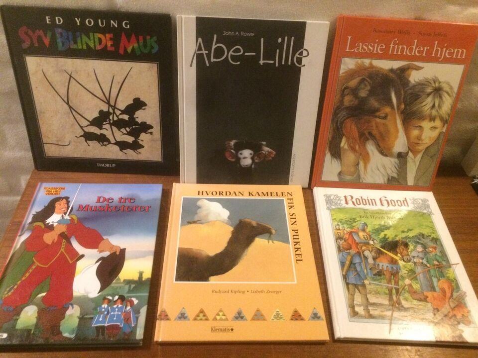Diverse klassiske børnebøger, Div