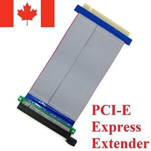 PCI-Express-PCI-E-16X-Slot-Riser-Card-Flexible-Ribbon-Extender-Extension-Cable