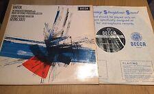 "DECCA SXL 6111 WB BARTOK The Miraculous Mandarin Suite SOLTI 12"" Record LP"