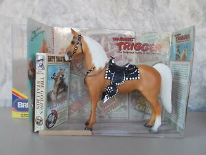Breyer Roy Rogers' Trigger Hollywood Horses Series Palomino Western Horse Video